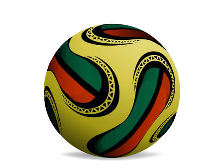 official world cup 2010 ball. Stock Vector - 8301018