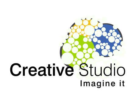 illustration of logo design.  イラスト・ベクター素材
