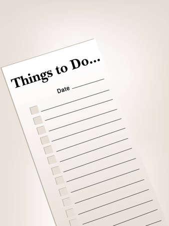 chores:  to do list of dingen te doen lijst