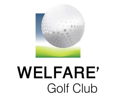 Logo Design for Golf Club Team. Vector