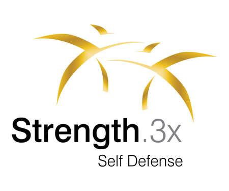 Logo Design for self defense Club. Illustration