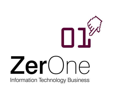 Logo Design for information technology Company. Vector