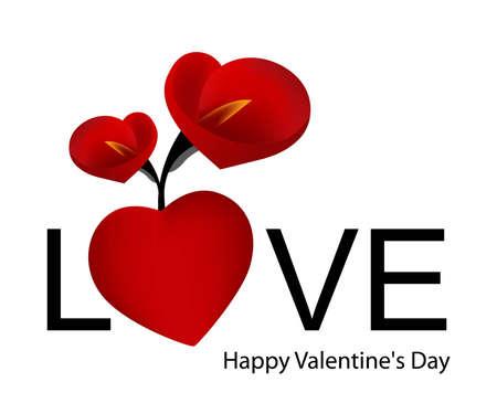 Creative Illustration for valentine day.