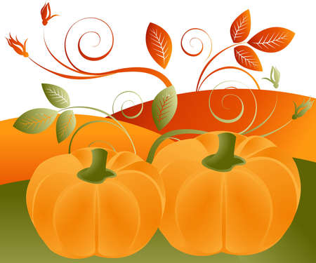 fall festival: Thanksgiving Concept Illustration Image, you can use it for Thanksgiving  sale time or seasons