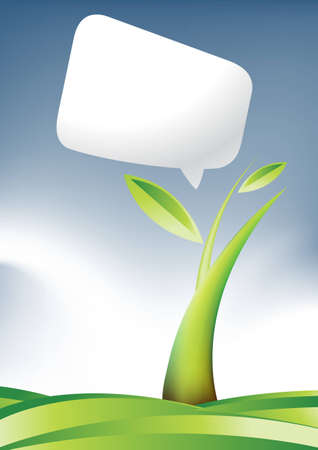 land development: Plant Growth Background, theme of growth  .