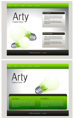 adobe: Website Template, easy to use in adobe Photoshop, Flash or Illustrator to export it to HTML format, just edit or replace text and add your sub pages.