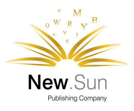 marca libros: Dise�o de logotipo para la empresa de publicaci�n.