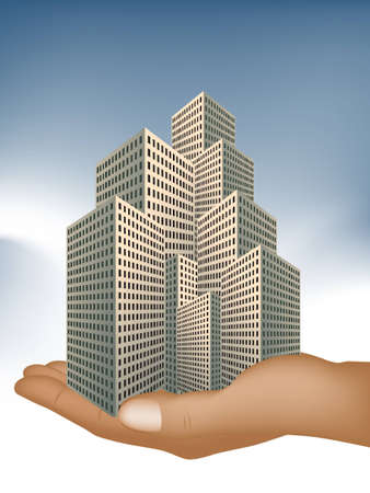 real estate investment , big offer for investment . Vector