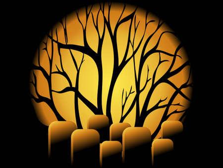 halloween concept: Halloween Concept  Illustration