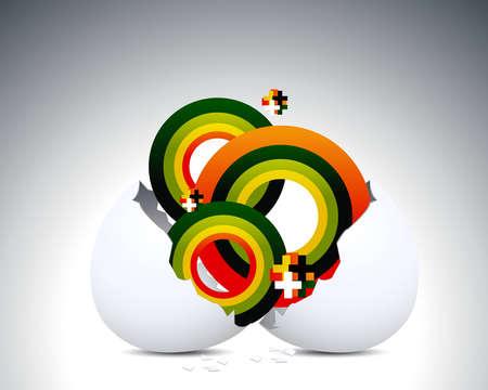 яичная скорлупа: eggshell