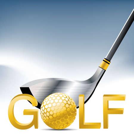 golfing: Golf Sport concept illustration .