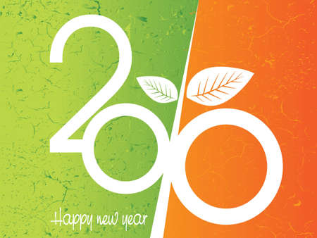 illustration of new year concept 2010 Stock Vector - 8297770