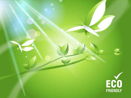 Environmental and Ecology concept  background . Stock Photo - 8297927
