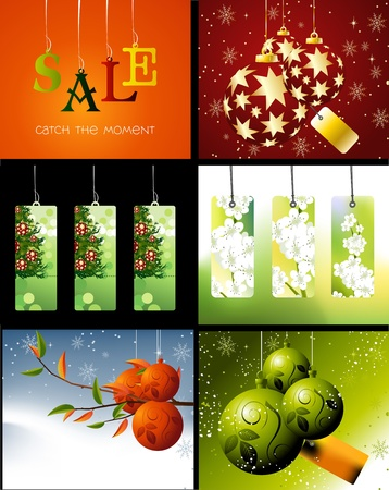 Set of sale conceptual design and illustration . Stock Vector - 16138146