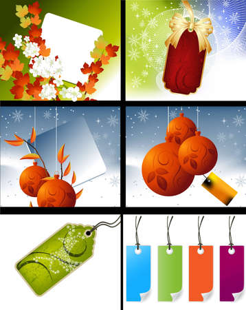 Set of sale conceptual design and illustration . Stock Vector - 16138121
