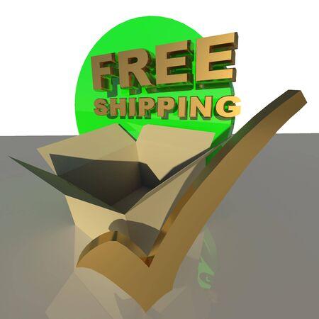 tick box: free shipping tick box