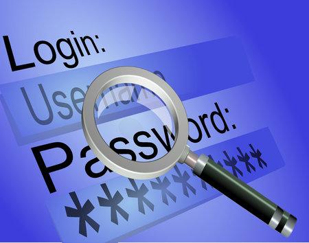 computer virus protection: login