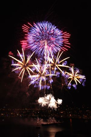 hale: Bright colors for fireworks on the 4rth