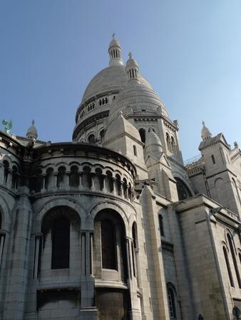 sacre: view of Sacre Coeur Stock Photo