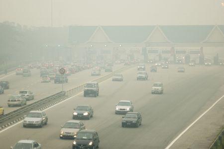Haze in Kuala Lumpur