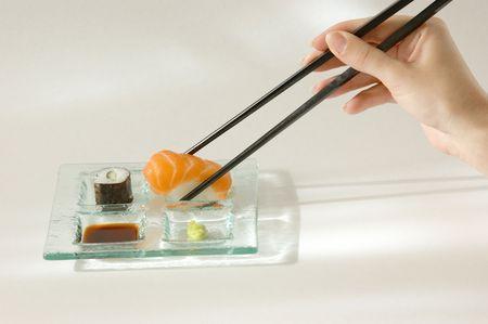 eighteen: Sushi; Set of Eighteen