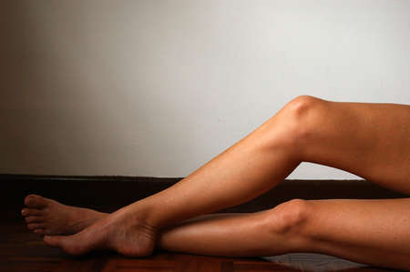 woman's: Womans legs Stock Photo