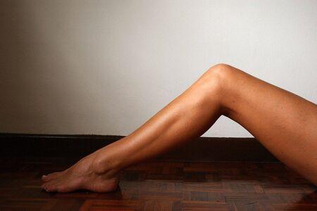 knees bent: Legs