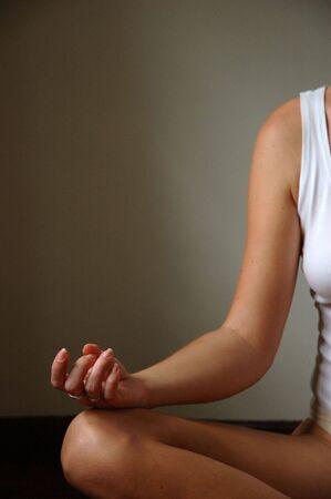 knees bent: Meditation