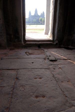View of Angkor Wat