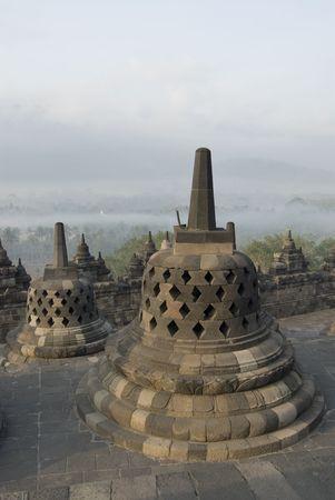 The Borobudur Temple, Java, Indonesia Stock Photo - 591429