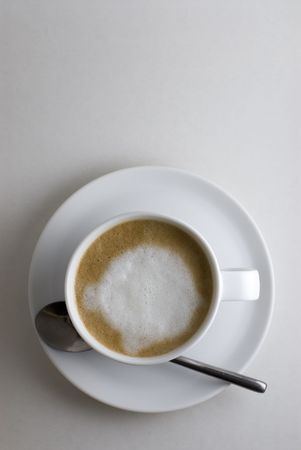 A refreshing cup of Italian Cappuccino Coffee Stock Photo - 635313