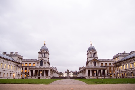 View at the Greenwich university