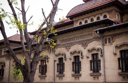 bucarest: Rue de Bucarest Banque d'images