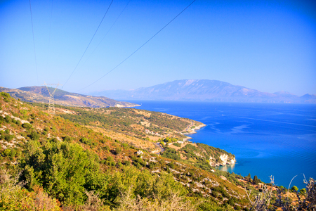 Landscape of Zakynthos island photo