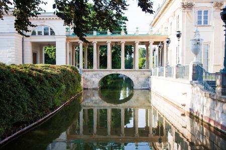 lazienki: Palace on Water, Lazienki park, Warsaw