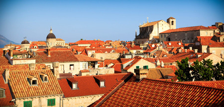 rooftops: Rooftops in the Old Town of Dubrovnik