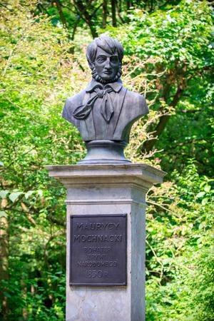 Bust of Maurycy Mochnacki in Warsaw
