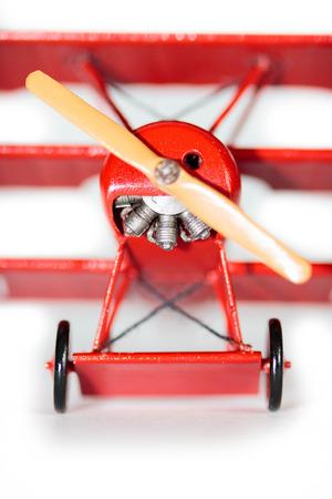 pegamento: Famoso Barón Rojo, Fokker Dr. hizo kit de modelo de avión que Plastik mano