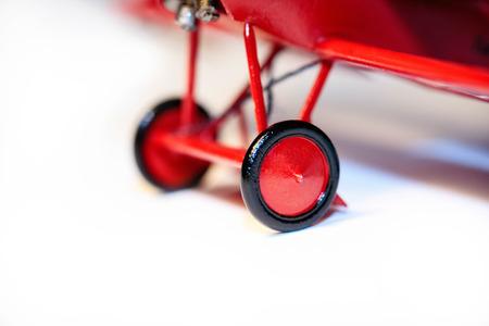 model kit: Famous Red Baron, Fokker Dr. I airplane plastik model kit hand made