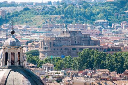 castel: Rome - Castel saint Angelo, Italy
