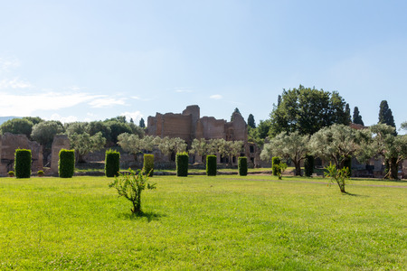 emperors: Hadrians Villa, the Roman Emperors Villa, erected in 118 and 138 AD on 150 acres. It was built by Romes greatest builder, who was inspired by the Greeks and artists of all kind. Publius Aelius Hadrianus built Villa of Hadrian Tivoli, outside of Rom