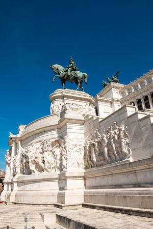 vittorio emanuele: Altare della patria, the National Monument to Vittorio Emanuele II. Rome Italy Editorial