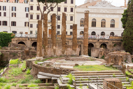 di: Largo di Torre Argentina, Rome Stock Photo