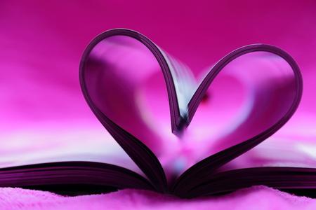 pink heart: Pink heart shape