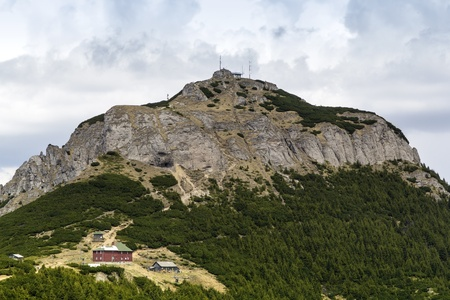 meteo: Meteo station in Carpathian mountains