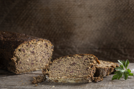 offal: Cighir - Traditional Romanian roulade baked made from pork offal