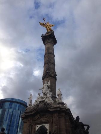 angel de la independencia: estatua de la independencia