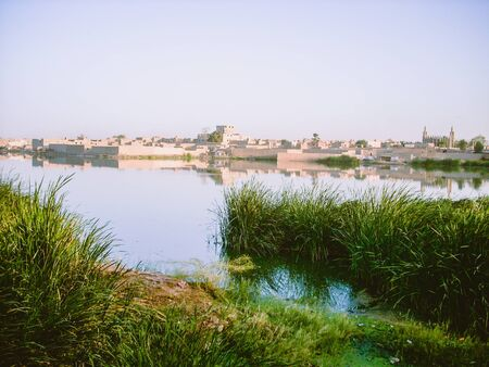 View of the Niger River from Timbuktu, Mali.