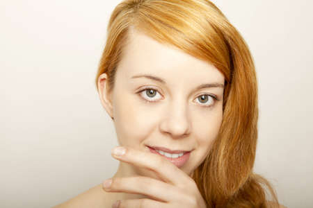 young redhead beautyful girl Stock Photo - 13005257