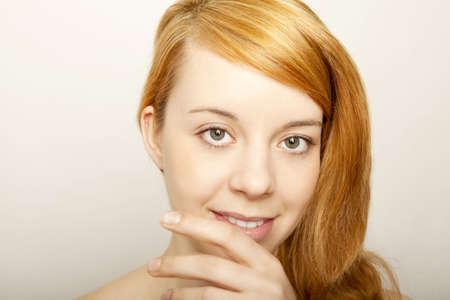 young redhead beautyful girl Stock Photo - 13005257